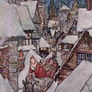 'the Night Before Christmas Poster by Arthur Rackham