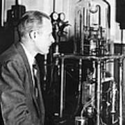 Walter Brattain, Us Physicist Poster by Science Photo Library