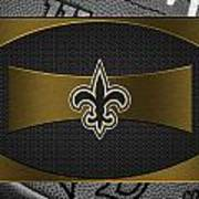 New Orleans Saints Poster by Joe Hamilton
