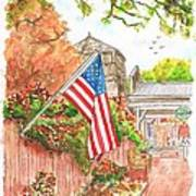 4th Of July In Los Olivos - California Poster by Carlos G Groppa
