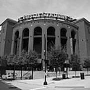 Busch Stadium - St. Louis Cardinals Poster by Frank Romeo