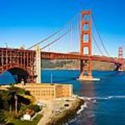 Golden Gate Bridge Poster by Darren Patterson