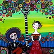 Serenata Poster by Pristine Cartera Turkus