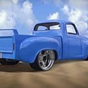 56 Studebaker Truck Poster by Mike McGlothlen