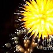 Fireworks Art Poster by Benjamin Simeneta