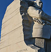 Martin Luther King Jr. Memorial Poster by Allen Beatty