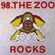 98.the Zoo Rocks Poster by Donna Wilson
