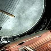 A Classic Pairing Digital Guitar And Banjo Art By Steven Langston Poster by Steven Lebron Langston