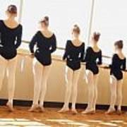 A Dance Class Poster by Don Hammond