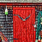 A Door In Maine Poster by Darren Fisher