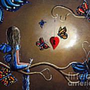 A Fairy's Heart Has Many Secrets Poster by Shawna Erback