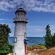 A Little Lighthouse Poster by Mel Steinhauer
