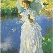 A Morning Walk Poster by John Singer Sargent
