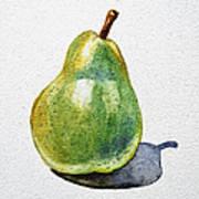 A Pear Poster by Irina Sztukowski