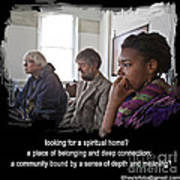 A Spiritual Home Poster by Mike Hoyle