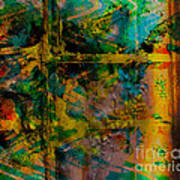 Abstract - Emotion - Facade Poster by Barbara Griffin