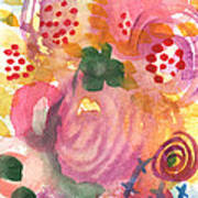 Abstract Garden #44 Poster by Linda Woods