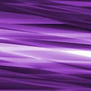 Abstract Modern Purple  Background Poster by Somkiet Chanumporn