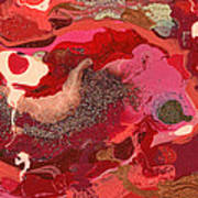 Abstract - Nail Polish - Love Poster by Mike Savad