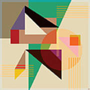 Abstract Shapes #4 Poster by Gary Grayson