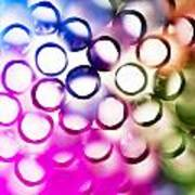 Abstract Straws 2 Poster by Jane Rix