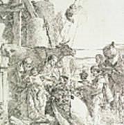 Adoration Of The Magi Poster by Giovanni Battista Tiepolo