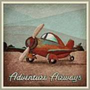 Adventure Air Poster by Cindy Thornton