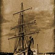 Age Of Sail Poster Poster by John Malone Halifax photographer