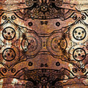 Age Of The Machine 20130605rust Poster by Wingsdomain Art and Photography