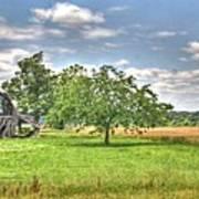 Air Conditioned Barn Poster by Douglas Barnett