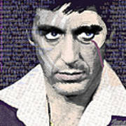 Al Pacino Again Poster by Tony Rubino