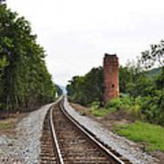 Alabama Tracks Poster by Verana Stark