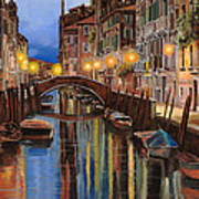 alba a Venezia  Poster by Guido Borelli