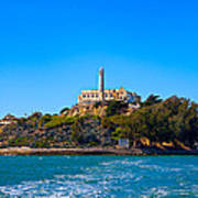 Alcatraz Island Poster by James O Thompson