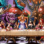 Alice In Wonderland 06a Poster by Zenescope Entertainment