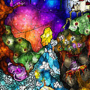 Alice's Wonderland Poster by Mandie Manzano