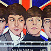 All You Need Is Love  Poster by Tom Roderick