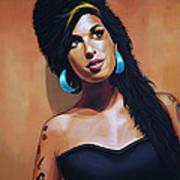 Amy Winehouse Poster by Paul Meijering
