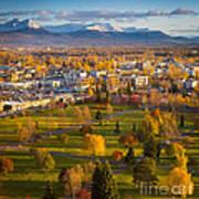 Anchorage Landscape Poster by Inge Johnsson