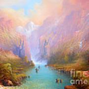Anduin The Great River Poster by Joe  Gilronan