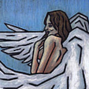 Angel Poster by Kamil Swiatek