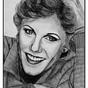 Anne Murray In 1983 Poster by J McCombie