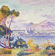 Antibes Afternoon Poster by Henri Edmond Cross