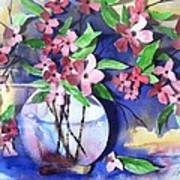 Apple Blossoms Poster by Sherry Harradence