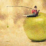 Apple Dream Poster by Taylan Soyturk