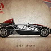 Ariel Atom Poster by Mark Rogan