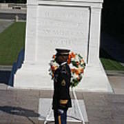 Arlington National Cemetery - Tomb Of The Unknown Soldier - 121212 Poster by DC Photographer