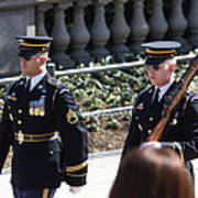 Arlington National Cemetery - Tomb Of The Unknown Soldier - 121223 Poster by DC Photographer