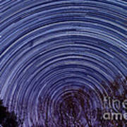 Arnold Startrails Poster by Benjamin Reed