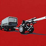 Artillery Gun Poster by Slade Roberts